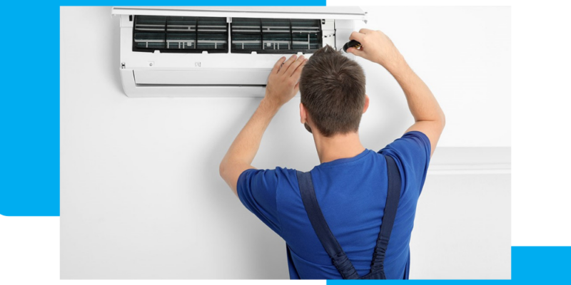 air conditioner serviced